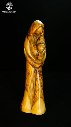 Mary Walking With Christ Child-Contemporary
