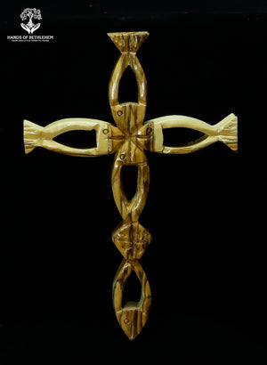 Ichthus Cross-Contemporary
