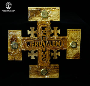 Jerusalem Cross with Elements