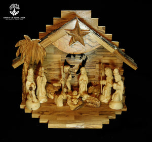 Nativity with Bark-Silent Night