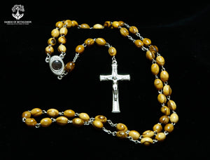 Rosary with Metal Crucifix