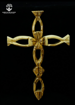 Fish (Ichthus) Cross