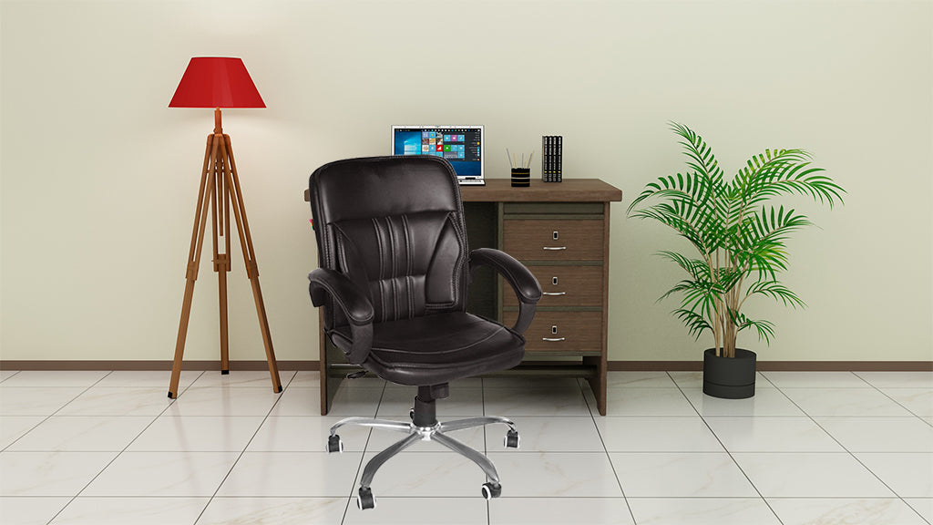 High Back Executive Chair-Brown
