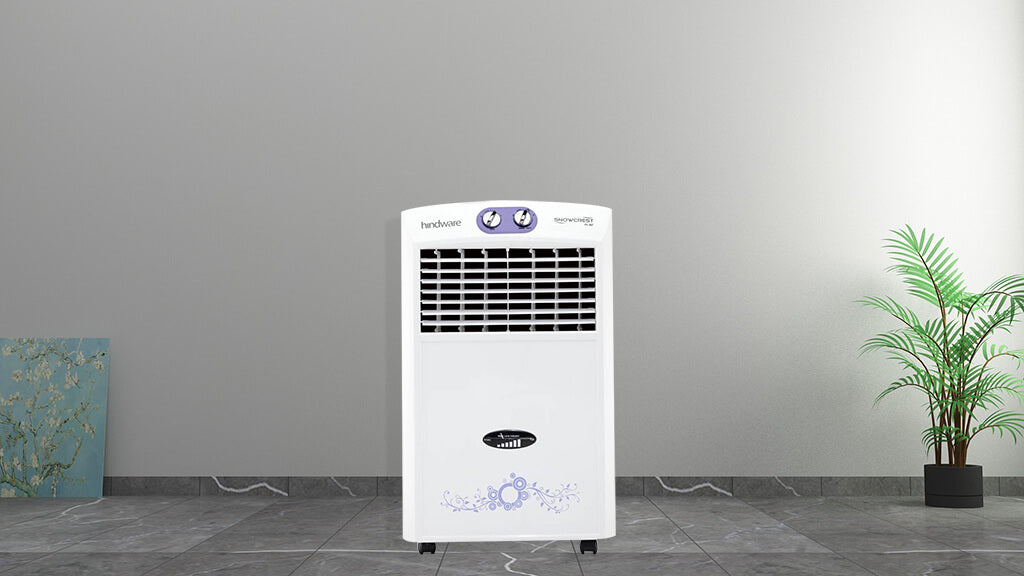 Hindware 24 Litres Snowcrest 24 HG Air Cooler (White)