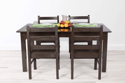 Solid Wood 4 Seater Dining Table