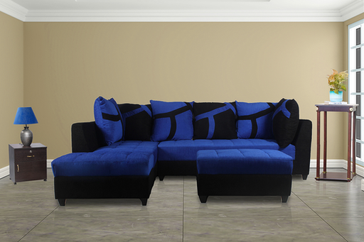 Brand New Plus Pulsation 5 Seater Sofa Navy Blue