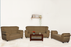 Brand New Upholstered 7 Seater Sofa With Bench(Cream)