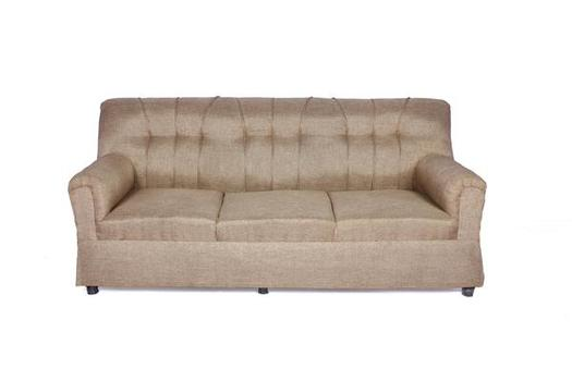 Brand New Upholstered 3 Seater Sofa Camel
