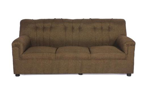 Brand New Upholstered 3 Seater Sofa Brown