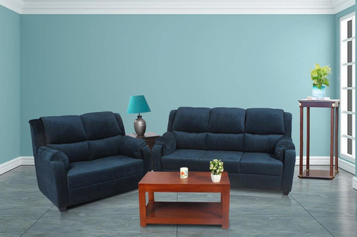 Brand New Plus Walter 5 Seater Sofa Blue