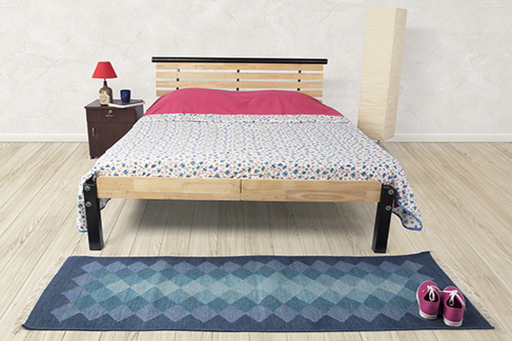 Brand New Rubberwood Double Bed