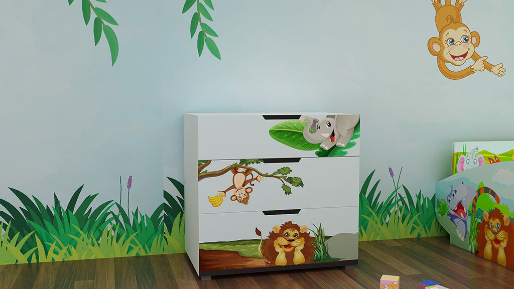 Safari Chest of Drawers