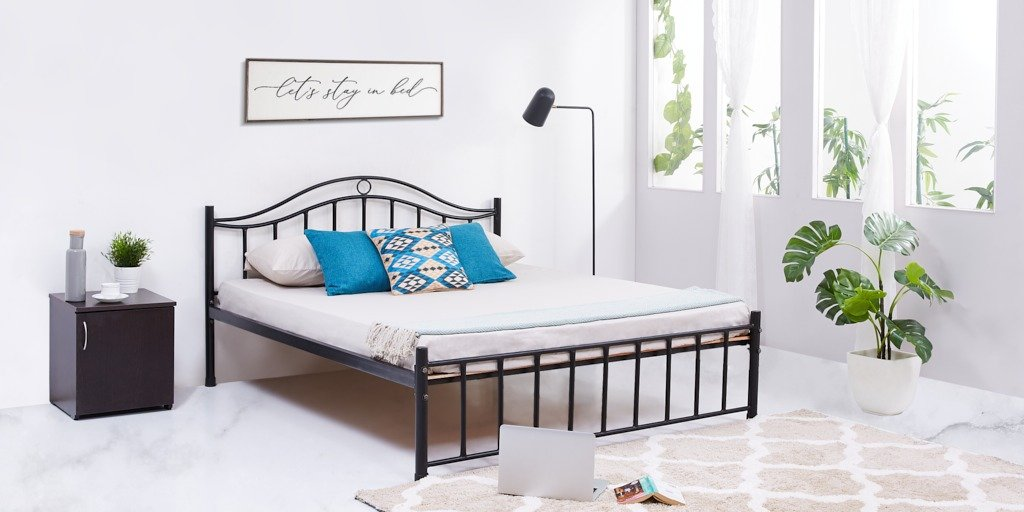 Napster Queen Bed (Black)