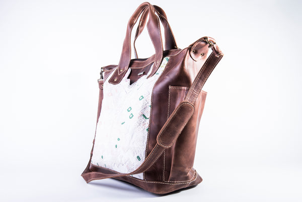 Huipil Carryall Day Bag no.0078 - Tia Sadie