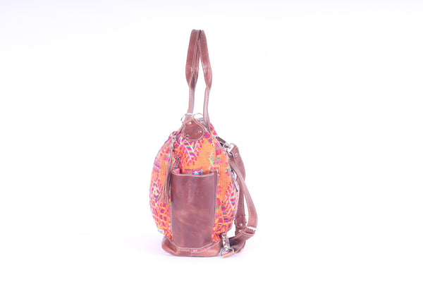 Bitty Huipil Convertible Day Bag no.0032 - Tia Sadie