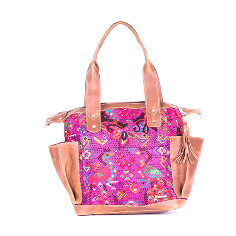 Bitty Huipil Convertible Day Bag no.0013 - Tia Sadie