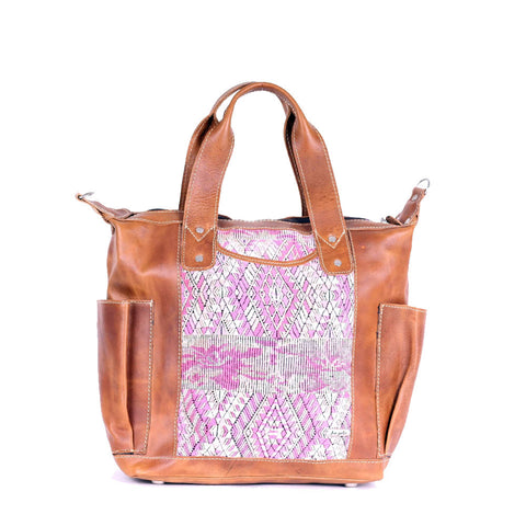 Bitty Huipil Convertible Day Bag no.0024 - Tia Sadie