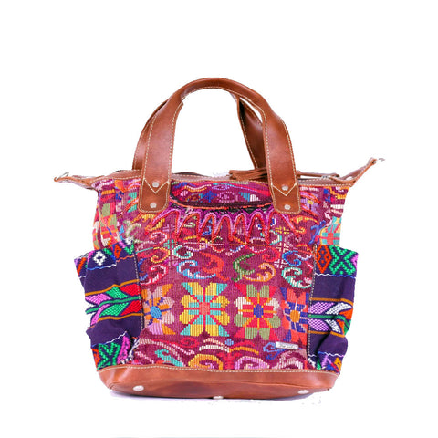 Bitty Huipil Convertible Day Bag no.0026 - Tia Sadie