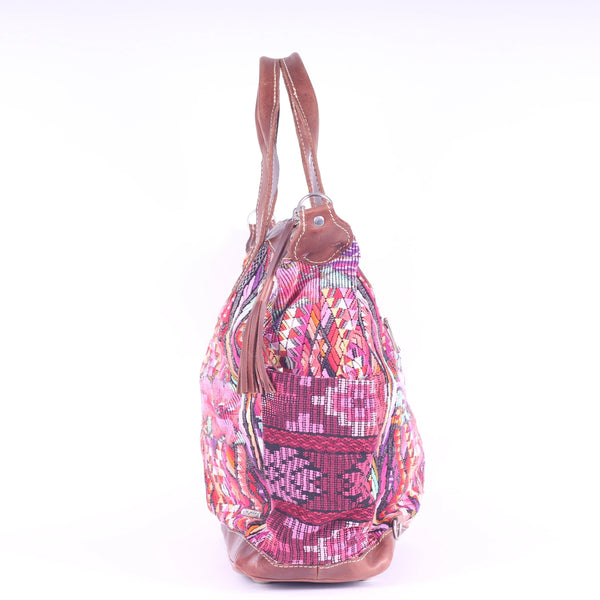 Huipil Convertible Day Bag no.0082 - Tia Sadie