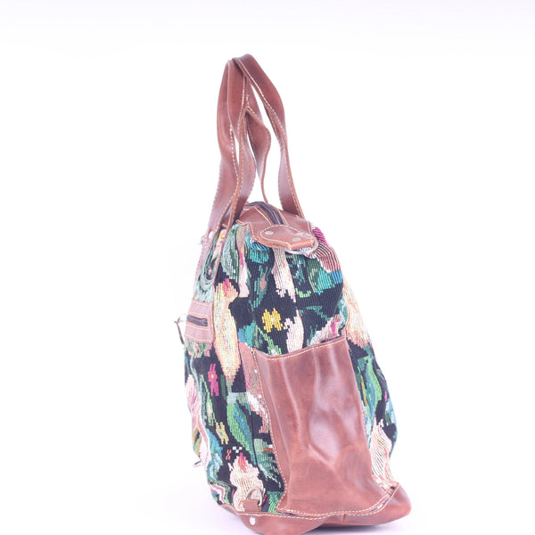 Huipil Convertible Day Bag no.0084 - Tia Sadie