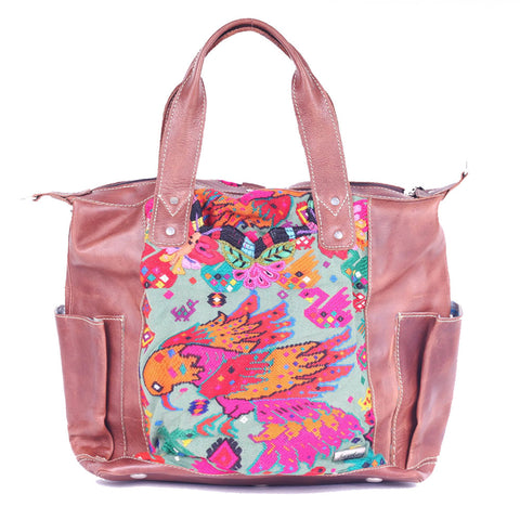 Huipil Convertible Day Bag no.0086 - Tia Sadie