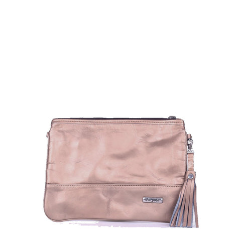 Rose Gold Convertible Clutch - Tia Sadie