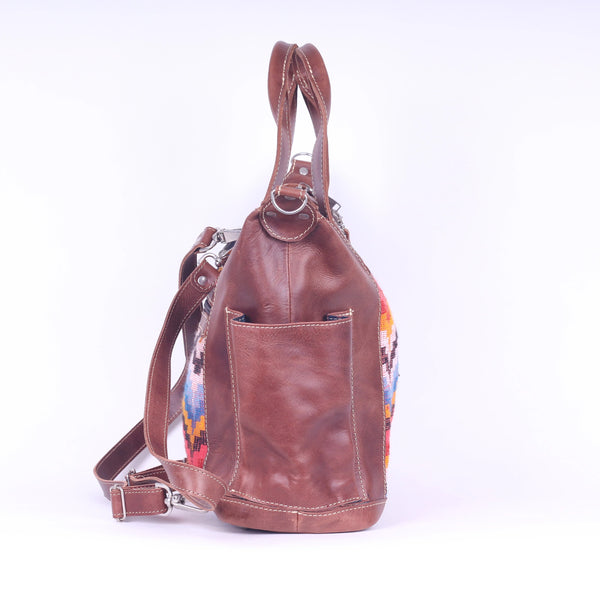 Bitty Huipil Convertible Day Bag no.0015 - Tia Sadie