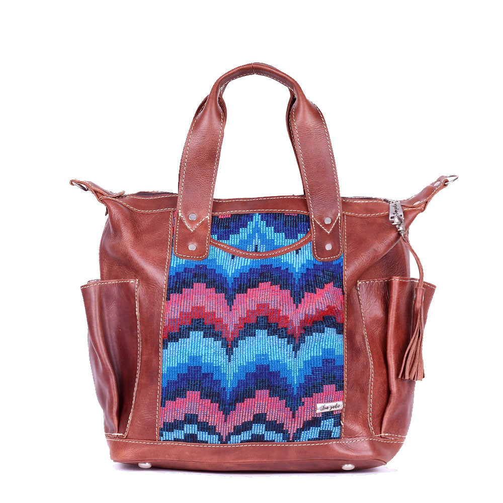 Bitty Huipil Convertible Day Bag no.0020 - Tia Sadie