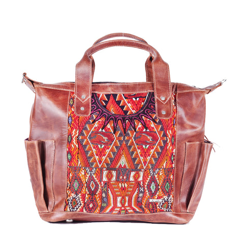 Huipil Convertible Day Bag no.0130 - Tia Sadie