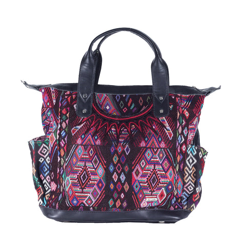 Huipil Convertible Day Bag no.0131 - Tia Sadie