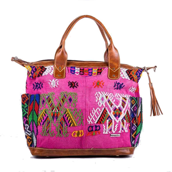 Huipil Convertible Day Bag no.0120 - Tia Sadie