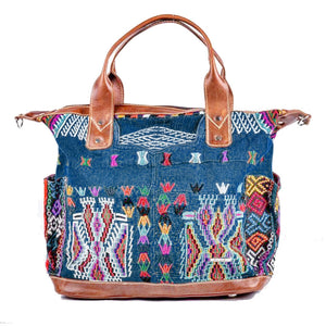 Huipil Convertible Day Bag no.0123 - Tia Sadie