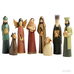 Serrv Nativity made in Indonesia