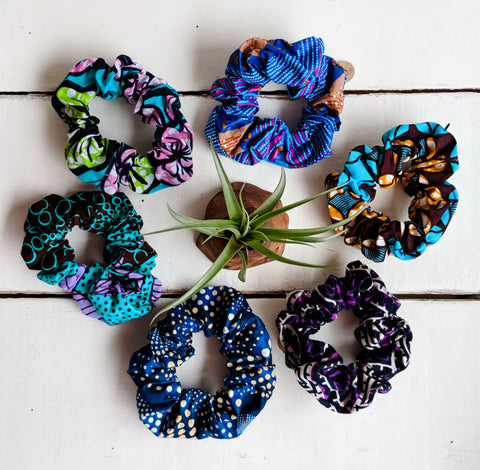 Hair Scrunchies - Assorted colors
