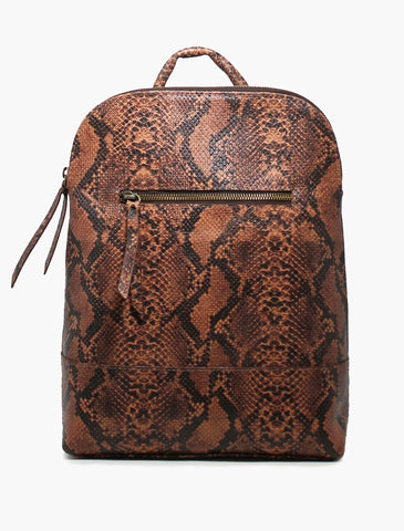Meron Backpack - Saddle Snake