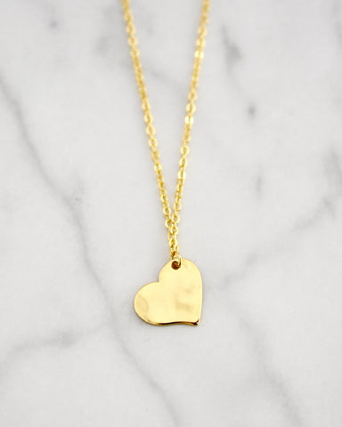 Heart Collection - Brass Hearts