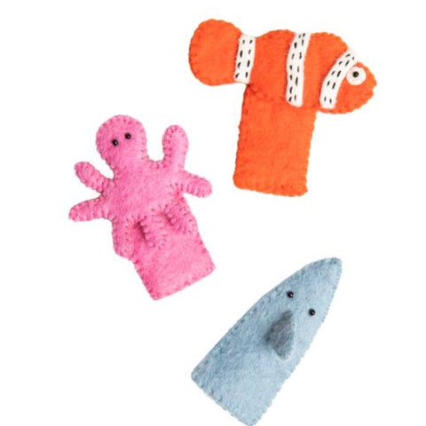 Felt Under The Sea Puppet Bag