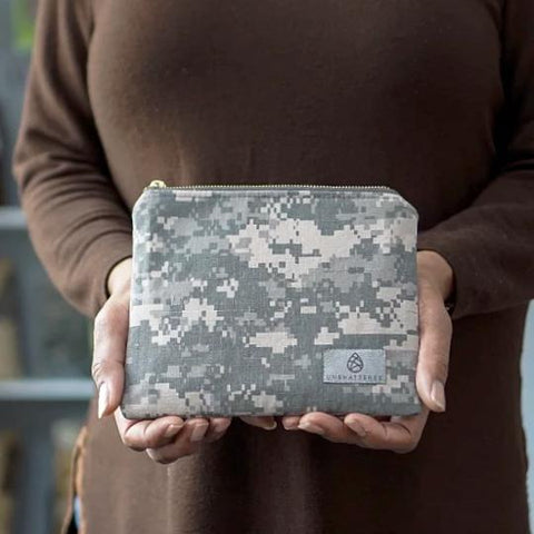 Camo US Army Zip Pouch