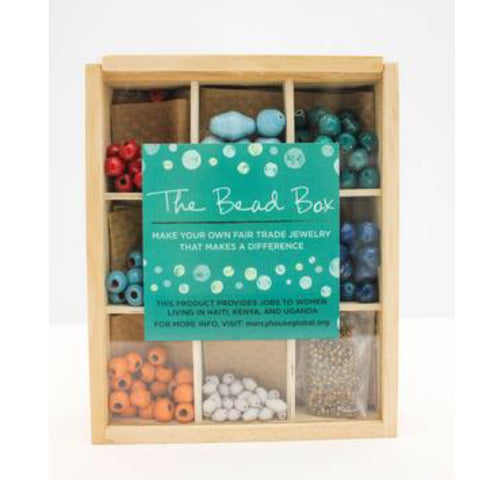Handmade Bead Box