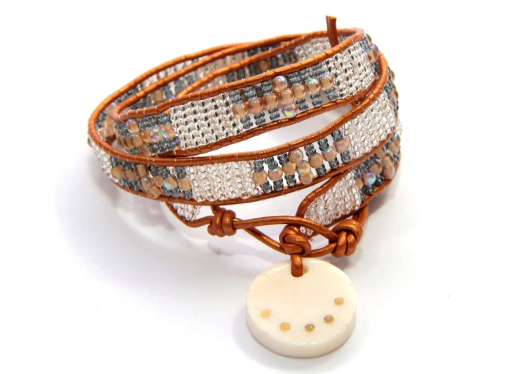 Virginia Triple Wrap Bracelet-Copper