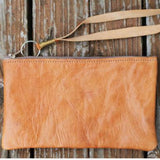 Leather Pouch - Brown