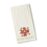 Pointsettia Tea Towel