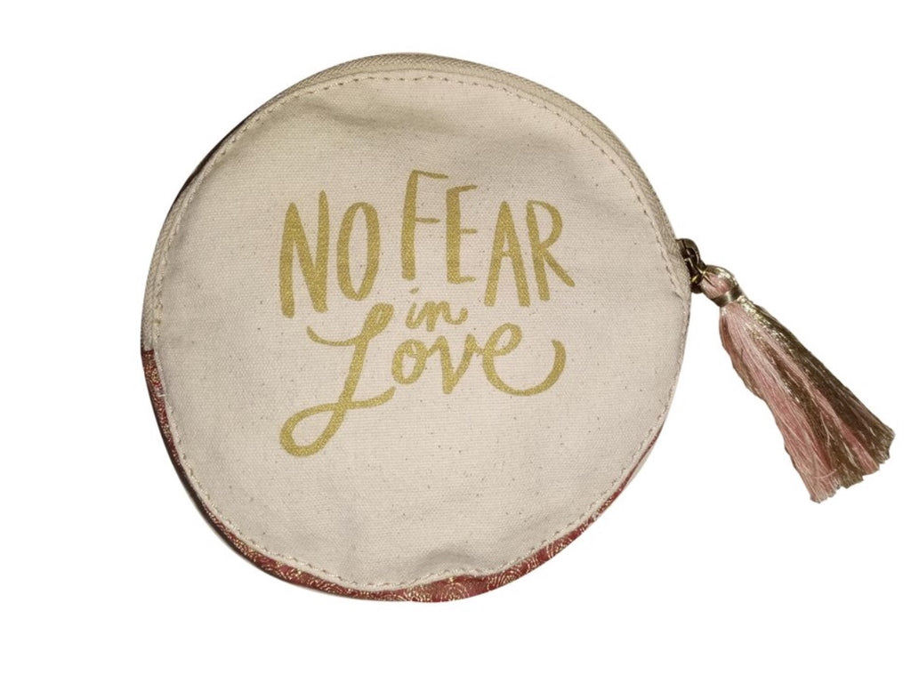 No Fear in Love Pouch