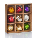 Crafted Glass Ornament- Assorted Colors - Sold Individually