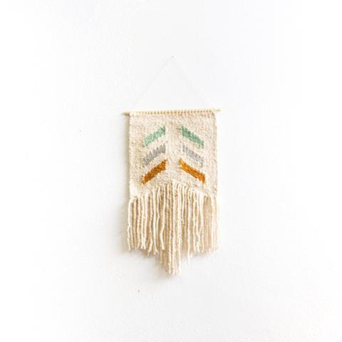 Geo Woven Wall Hanging