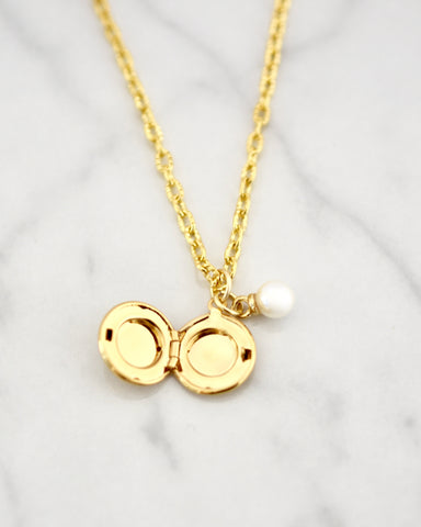 Delilah Necklace - Locket