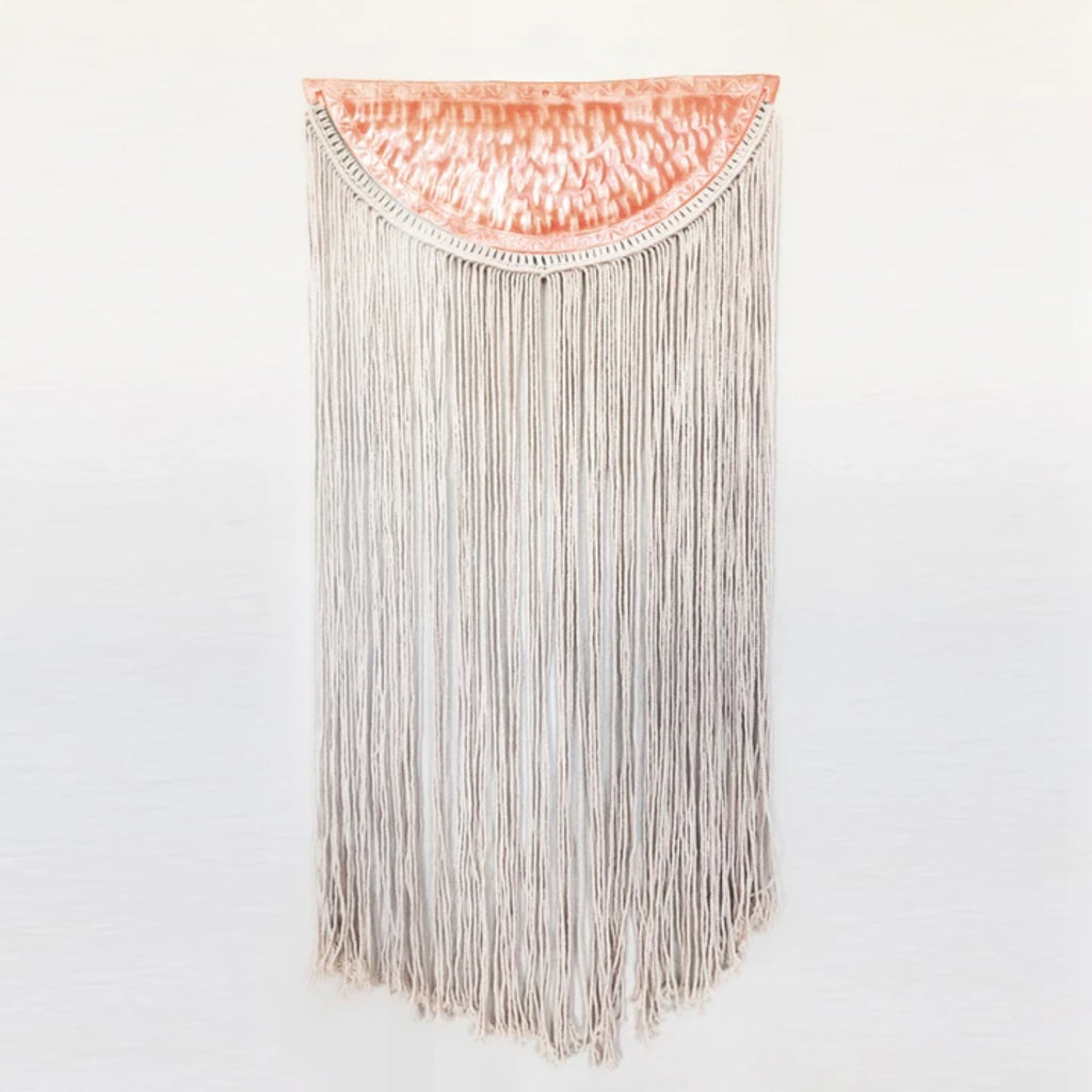 Copper and Macrame Wall Hanging **Local Delivery & Curbside Pick-up Only**