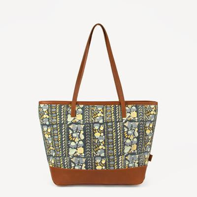 Agaja Indigo Panel Tote Bag (Local Pickup/Local Delivery Only)