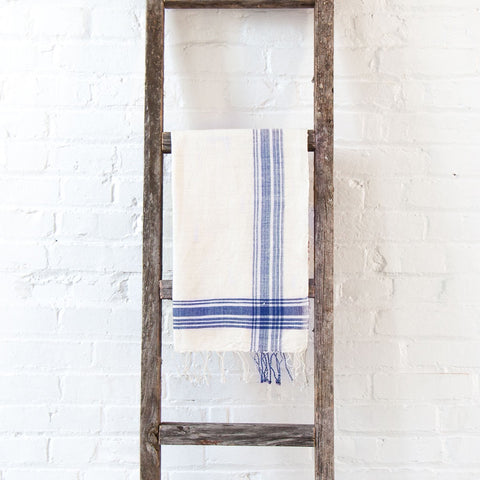 Cabin Hatch Navy Cotton Hand Towel
