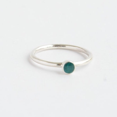 Rosamaria Sterling Ring - Turquoise Amazonite
